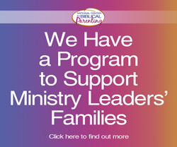 We support ministry leaders' families button