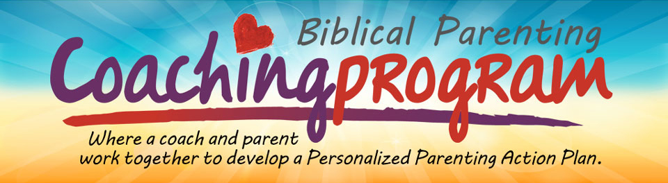 Biblcial Parenting Coaching Program banner