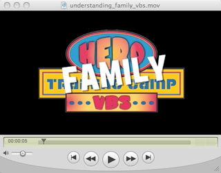 Family VBS Intro Video